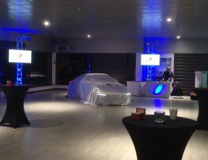 animation eclairage et lumière pour Porsche
