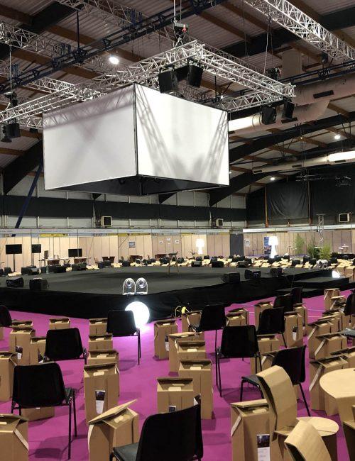 location de materiel audiovisuel pour seminaire